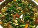 No Oil Everything but the Kitchen Sink Soup (vegan)