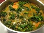 Soy chorizo & Kale Soup